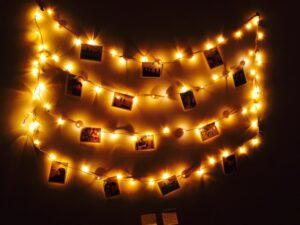 Fairy light with Photos