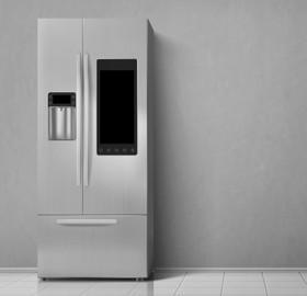 Image of Double door fridge